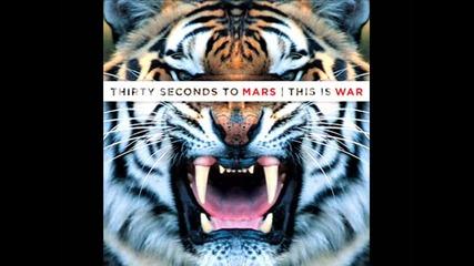 30 Seconds To Mars - This Is War (lyrics)