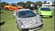 Lamborghini Gallardo изрисувано с графити яко!! Lamborghini Gallardo in grafits -