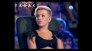 Пълна откачалка - X Factor Bulgaria 2011 [ Mari (bon Jovi - You Give Love A Bad Name) ]