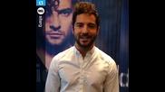 David Bisbal Saludo desde Brasil