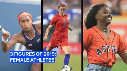 These female athletes made history in 2019