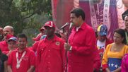 Venezuela: Thousands attend Indigenous Day rally led by Maduro