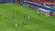 Нани шамароса Уелс за втори път в мача