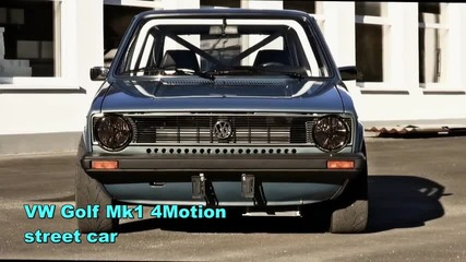 1152 коня Vw Golf Mk1 4motion