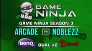 Game Ninja CS:GO #2 - NoBlezz vs arcade