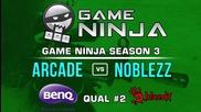 Game Ninja CS:GO #2 - NoBlezz vs arcade