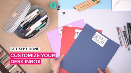 Get Sh*t Done: Projects to complete, desk inboxes to organize