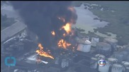 Fuel Tank Fire Enters Third Day in Santos, Brazil
