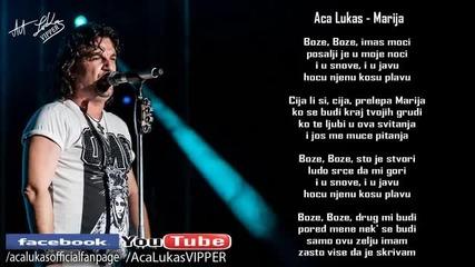Aca Lukas - Marija (Audio - Live 1999)