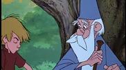 Мечът в камъка * 3/5 * Бг Аудио - анимация (1963) The Sword in the Stone # Walt Disney animation
