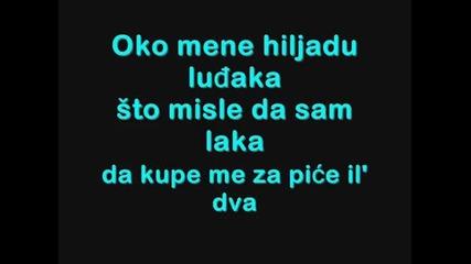 Превод! Severina - Tarapana ( Лудница )