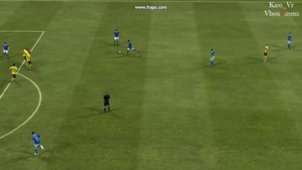 Fifa 2013 - Много хубав гол на Jefferson Farfan
