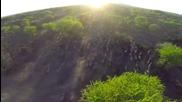 Паркът Серенгети от въздуха