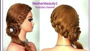 Прическа за всеки ден с плетене на косата