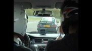 Ford Sierra се гаври със Mitsubishi Lancer evo8