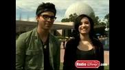 Joe Jonas & Demi Lovato Radio Disney