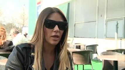 Ana Nikolic - Na aerodromu Nikola Tesla - Glamur - (TV Happy 2014)