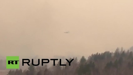 Russia: EMERCOM aircraft battle wildfires in eastern Russia