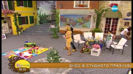 """На кафе"" с Георги от рап дуета Румънеца и Енчев - част 1 (06.05.2015)"