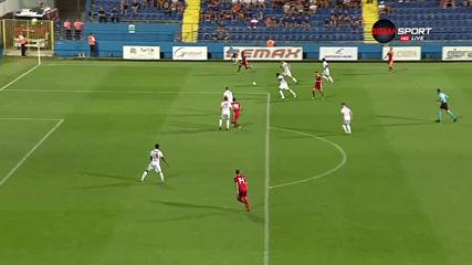 Титоград - ЦСКА 0:0 /първо полувреме/