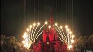 2012 Walt Disney Christmas Fireworks Show