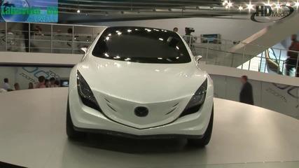 Изложба на автомобили в автосалон в Москва ( High Definition Video)