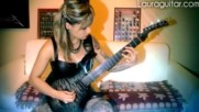 Hottest Female Guitarists on Earth in 2016 Shredding Guitars to Bits