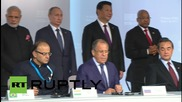 Russia: BRICS sign documents on enhanced cooperation