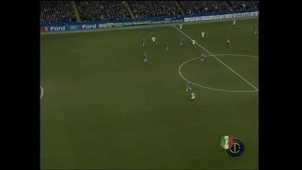 Chelsea - Inter - Etoo goal
