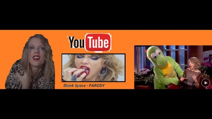 Taylor Swift - My Scared Video (parody on Blank Space)