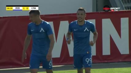 Иванов наказа грешка на Славия, Левски поведе