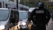 France: Riot police file out as Nantes protests Calais refugee eviction