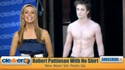 Горещо - Robert Pattinson Без Риза В New Moon (новолуние)