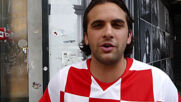 Croatia: Home fans watch in Zagreb as team loses to England in Euros opener