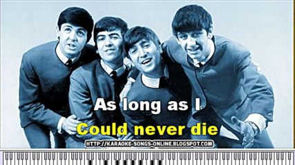 The Beatles - And I love her - Karaoke songs online.