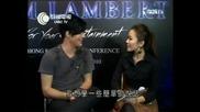 Adam Lambert's adorable laugh