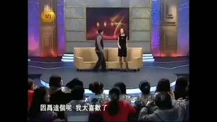 Jackie on chinese talk show 7