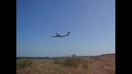 Austrian Arrows Dash8 @ Varna Airport