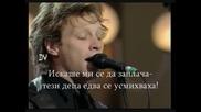 Jon Bon Jovi & Luciano Pavarotti Let It Rain Превод Live War Child Modena June 1998