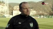 Фийни: Футболистите показаха професионализъм