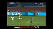 Юар 1 - 0 Заландия - Гол на Бърнарт Паркър 17.06.09