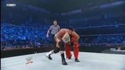 Smackdown 2009/07/31 Dolph Ziggler & Mike Knox vs Finlay & Rey Mysterio 1/2
