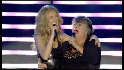 Превод* Celine Dion & Ginette Reno - Малко по-нависоко, малко по-надалеч