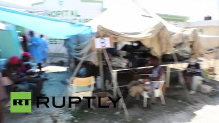 Епидемия от холера в Хаити
