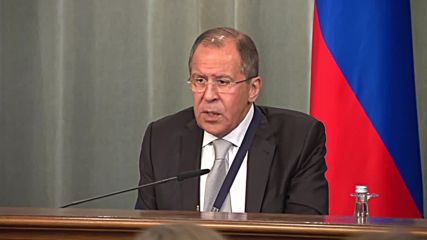 Russia: We will provide 'the most active' support to Syrian troops in Aleppo - Lavrov