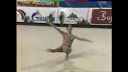 Художествената гимнастика не е лесна