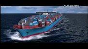 Най-големият кораб в света: Огромният корпус еп.1