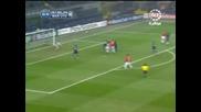 24.02 Интер - Манчестър Юнайтед 0:0 Две Изключителни Възможности За Кристиано Роналдо