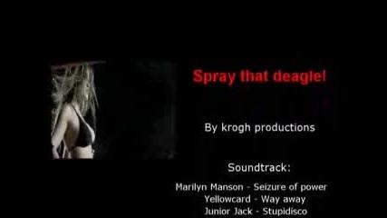 Counter Strike 1.6 - Spray That Deagle !