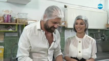 """Традиционна българска вечеря с Миглена Каканашева-Мегз в """"Черешката на тортата"""
